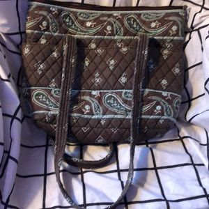 Quilted bag by Croft and Barrow.